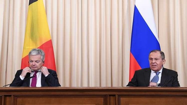 لافروف: روسيا مستعدة لاستئناف الحوار مع الاتحاد الأوروبي