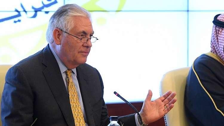 تيلرسون: التحالف يسيطر على 30% من أراضي سوريا