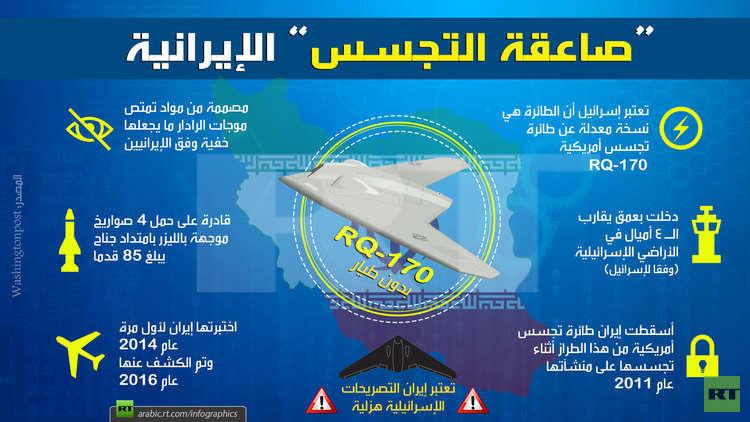 طائرة التجسس الإيرانية