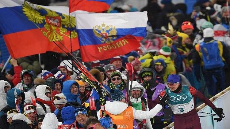 الرياضيون الروس يواصلون حصد الميداليات خلال الأولمبياد الشتوي