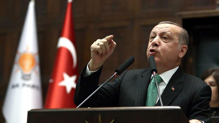 أردوغان يحذر شركات النفط والغاز الأجنبية
