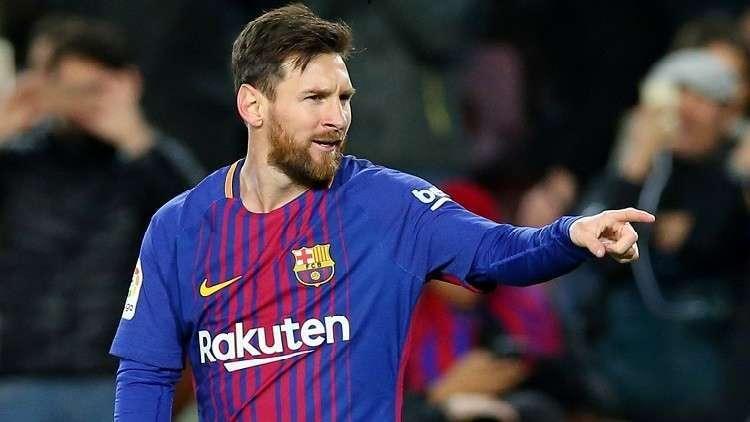 رقم ماراثوني جديد لميسي مع برشلونة