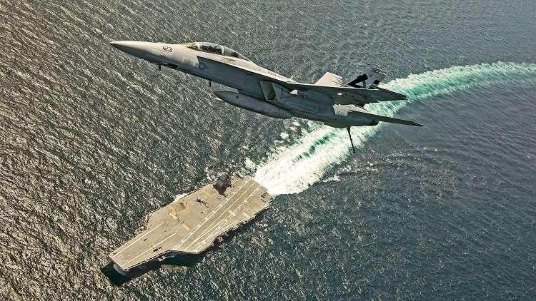 أحدث حاملة طائرات أمريكية تفشل في أداء أبسط المهام