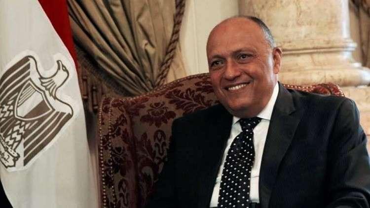 وزير الخارجية المصري في