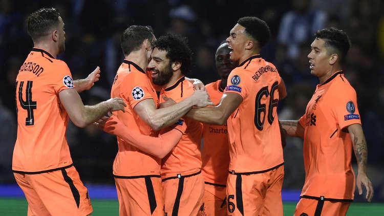 ليفربول يقسو على بورتو ويضع قدما في ربع نهائي أبطال أوروبا
