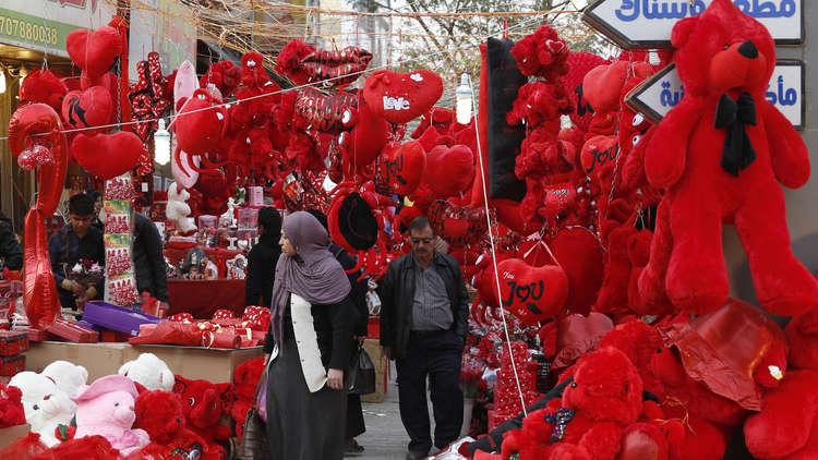 عيد الحب يعود إلى الموصل بعدما كان عقابه الموت