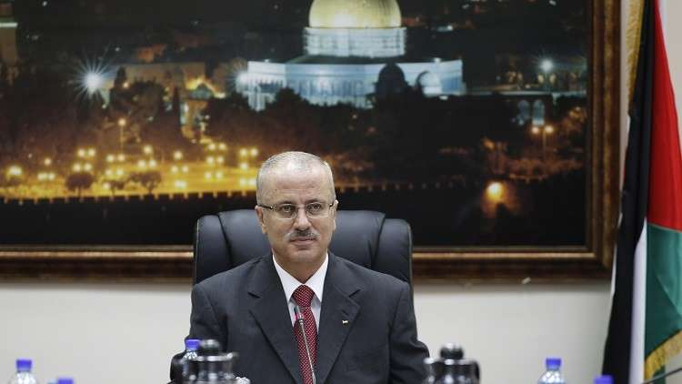 الحمد الله يبحث مع مسؤول إسرائيلي الأزمة الإنسانية في غزة