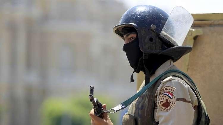 الجيش المصري يصدر البيان الثامن عن عملية
