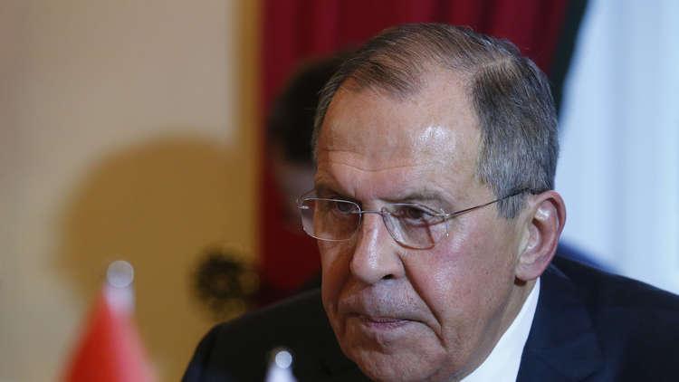 لافروف وشكري يبحثان الوضع في سوريا وليبيا وفلسطين