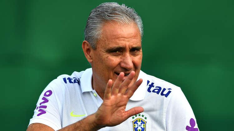 مدرب البرازيل يؤكد حضور 15 لاعبا لمونديال روسيا