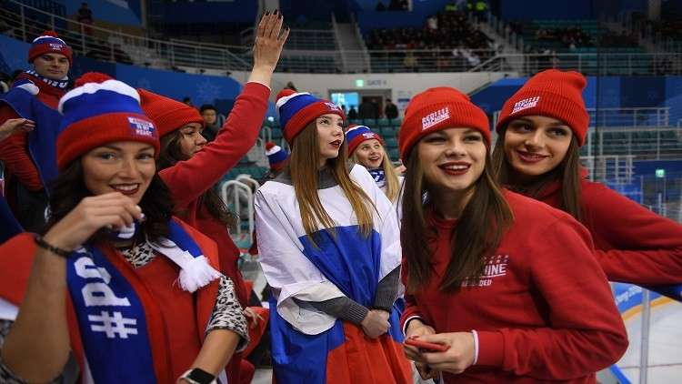 روسيا تبلغ نصف نهائي هوكي الجليد للسيدات من بوابة سويسرا