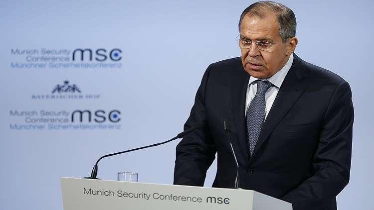لافروف يدعو لتعاون دولي يخدم صياغة بنية أمنية في الشرق الأوسط