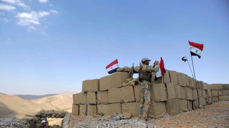 الجيش السوري: إحباط محاولة تسلل مجموعة إرهابية من لبنان