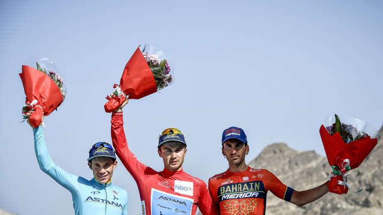 الكازاخستاني لوتسنكو يحرز لقب طواف عمان