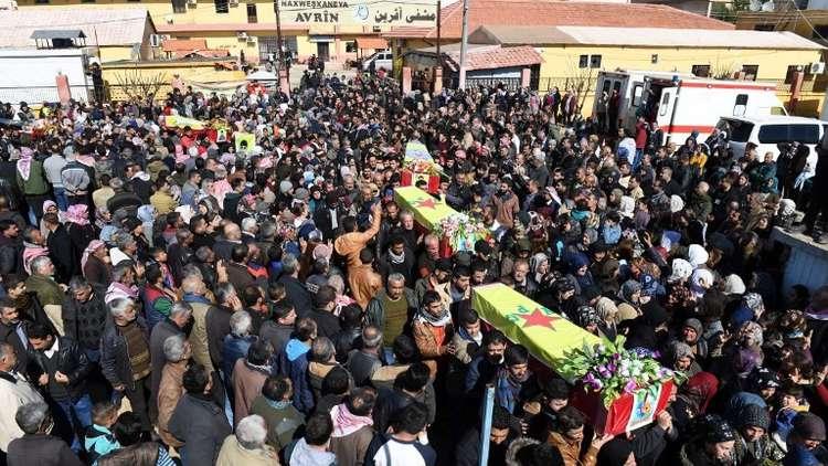 مقتل مسلحين أجانب في صفوف الوحدات الكردية بسوريا