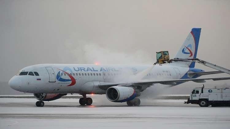 هبوط اضطراري لطائرة روسية في مطار نوفوسيبيرسك