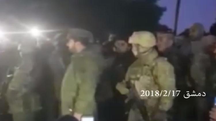 سهيل الحسن يخاطب عسكرييه على مشارف الغوطة الشرقية