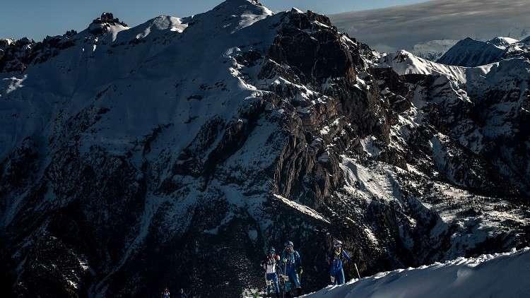 مصرع فرنسي وابنته بانهيار جليدي في جبال الألب
