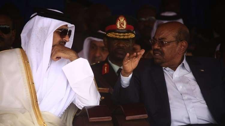 البشير يوجه رسالة لأمير قطر!