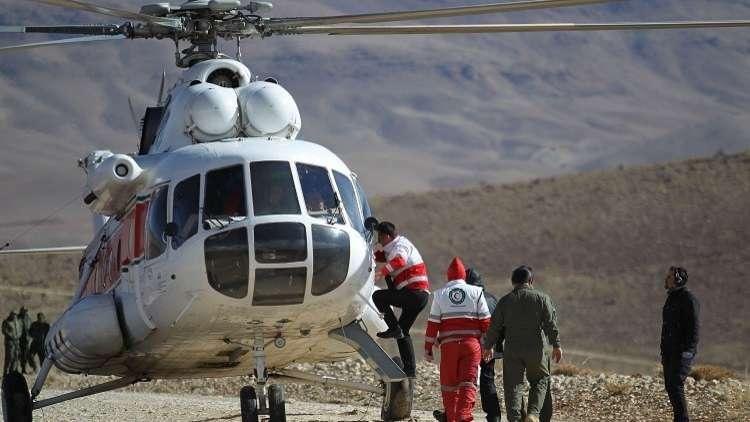 إيران تواصل بحثها عن حطام الطائرة المنكوبة لليوم الثالث على التوالي