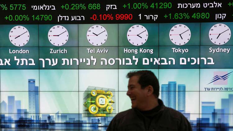 تداعيات صفقة الغاز مع مصر على بورصة تل أبيب