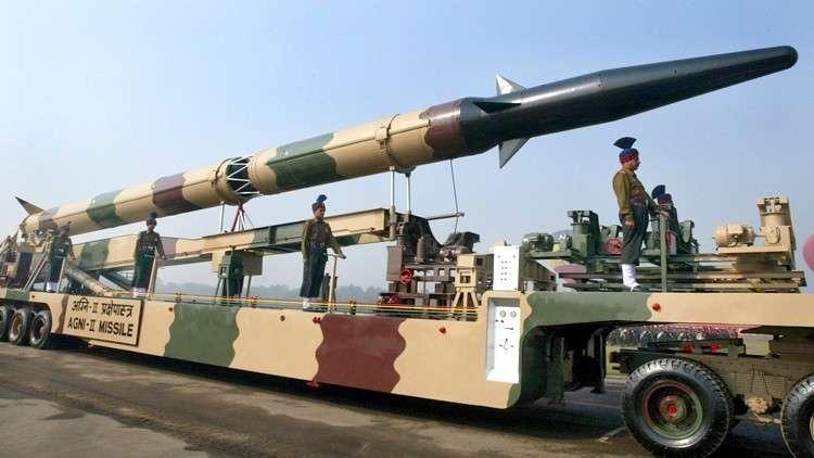 الهندتختبر الصاروخ الباليستي