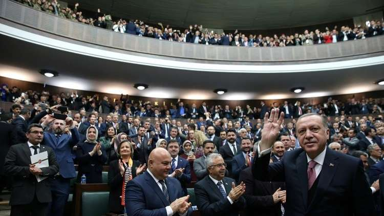 أردوغان: اتصالاتنا منعت انتشار القوات السورية في عفرين