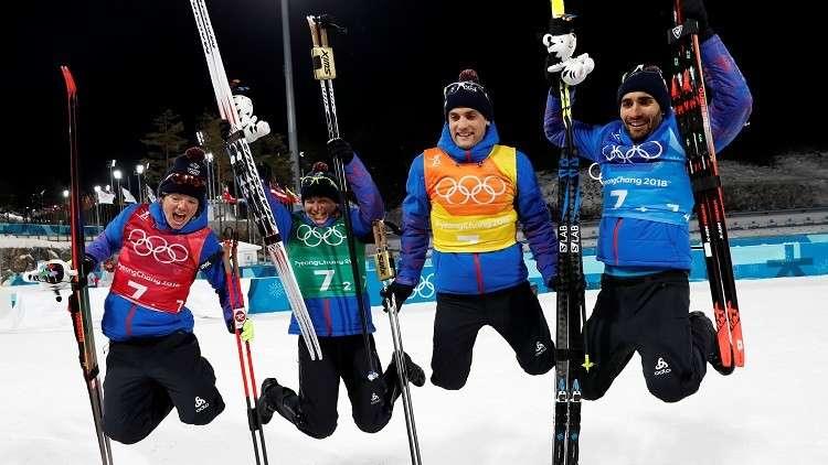 أولمبياد 2018.. الذهبية الثالثة للفرنسي فوركاد