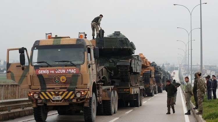وحدات خاصة تركية تضم 1200 جندي تتوجه إلى عفرين