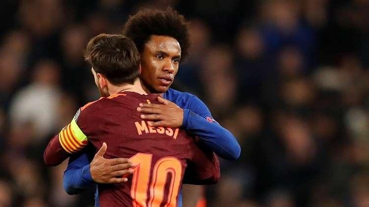 شاهد.. برشلونة ينجز مهمته أمام تشيلسي في لندن