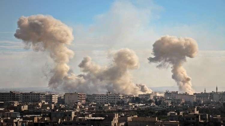 الكرملين: اتهام موسكو بالضلوع في قصف الغوطة باطل