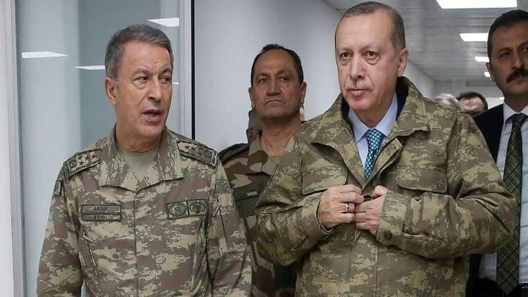 أردوغان: نخوض عملية
