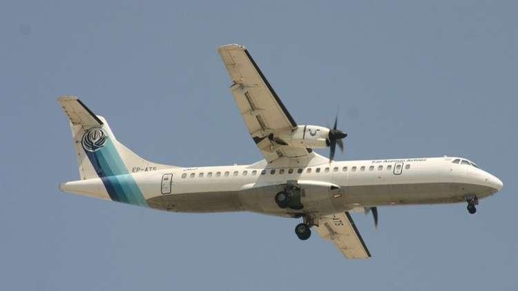 الصور الأولى للطائرة الإيرانية المنكوبة