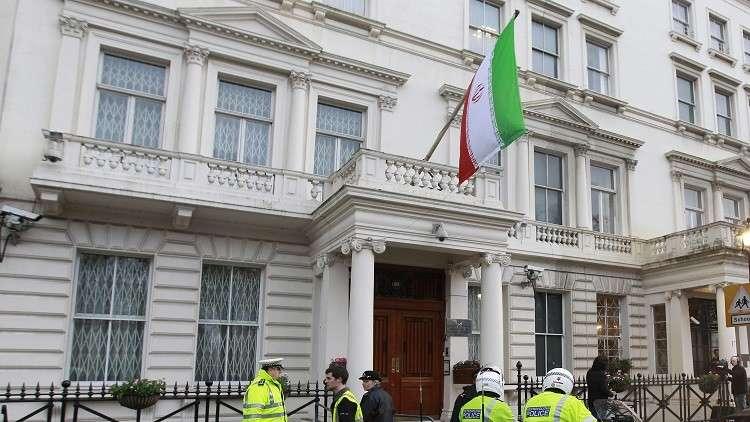 بريطاني يسلم سفارة طهران في لندن عريضة لإطلاق سراح زوجته