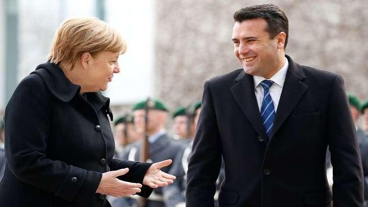 ميركل تحذر من تعاظم النفوذ الصيني في البلقان