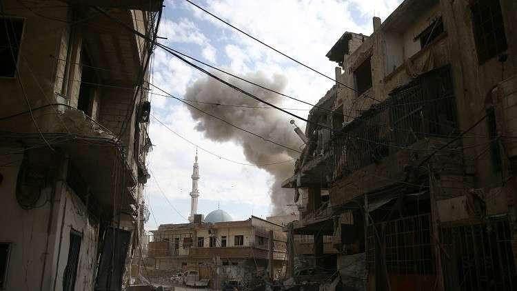 مركز المصالحة الروسي: المسلحون في الغوطة الشرقية لم يستجيبوا لدعوات وقف القتال ونزع السلاح