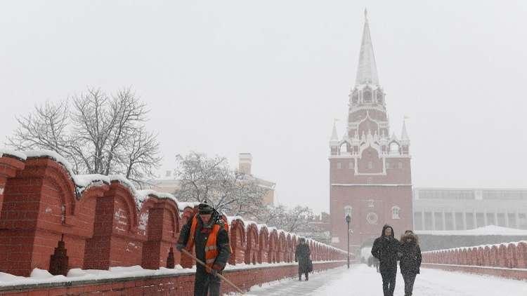 وزارة الطوارئ الروسية تحذر سكان موسكو من الزمهرير