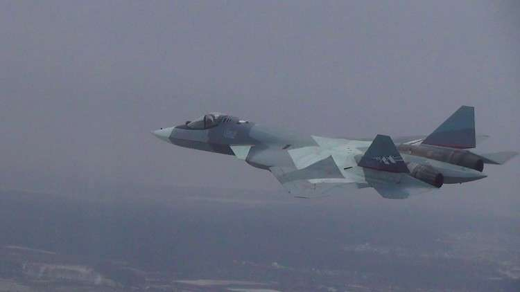 ظهور مقاتلات الجيل الخامس الروسية في سوريا