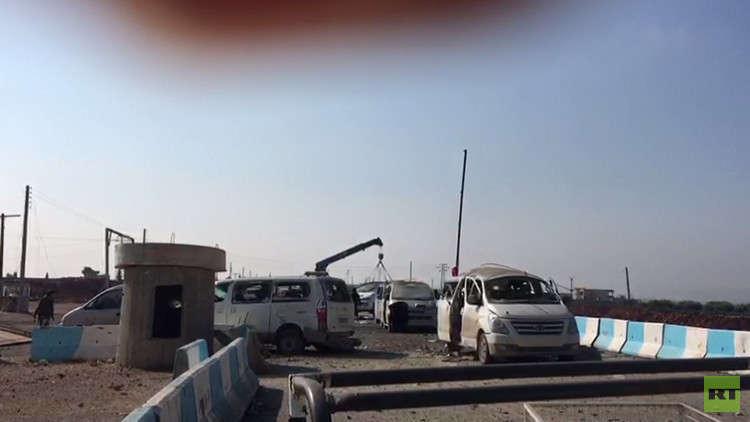 الجيش التركي يقصف رتل سيارات قبل دخوله إلى عفرين (فيديو+صور)