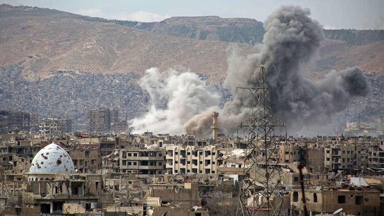 قتلى وجرحى في قصف نفذه مسلحون على مدينة دمشق وريفها