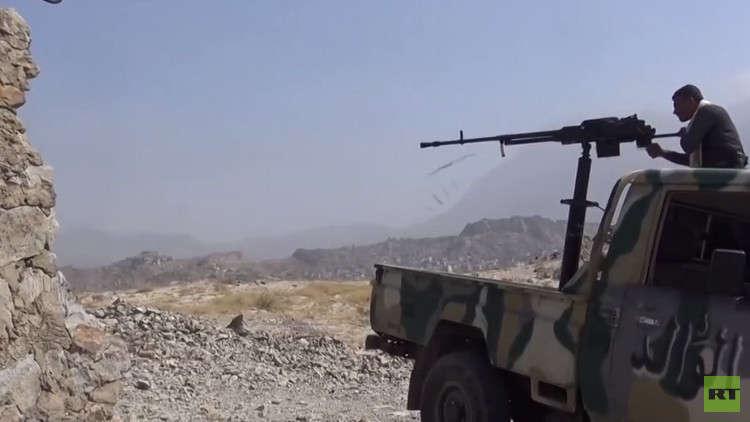 القوات اليمنية المدعومة من التحالف العربي تضيق الخناق على الحوثيين في صعدة