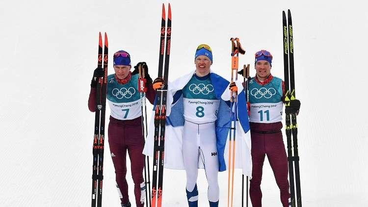 الرياضيون الروس يحصدون ميداليتين جديدتين في أولمبياد 2018