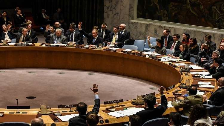 مجلس الأمن يصوت بالإجماع لصالح مشروع قرار الهدنة في سوريا