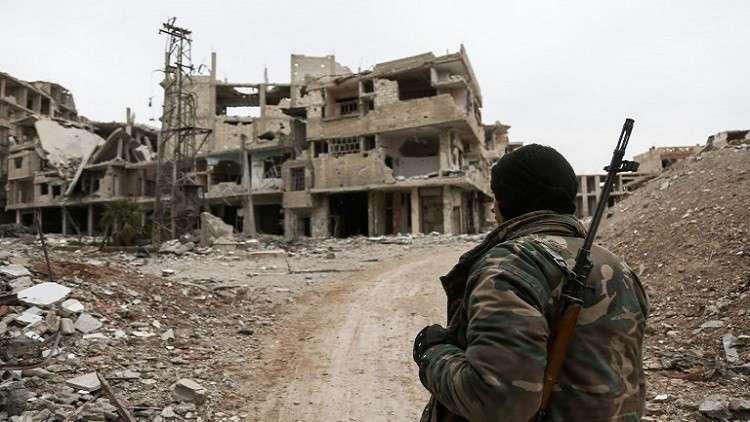 المعارضة السورية في الغوطة الشرقية ترحب بقرار وقف إطلاق النار