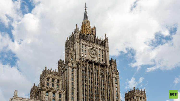 موسكو تعرب عن قلقها من استخدام واشنطن للقوة ضد دمشق