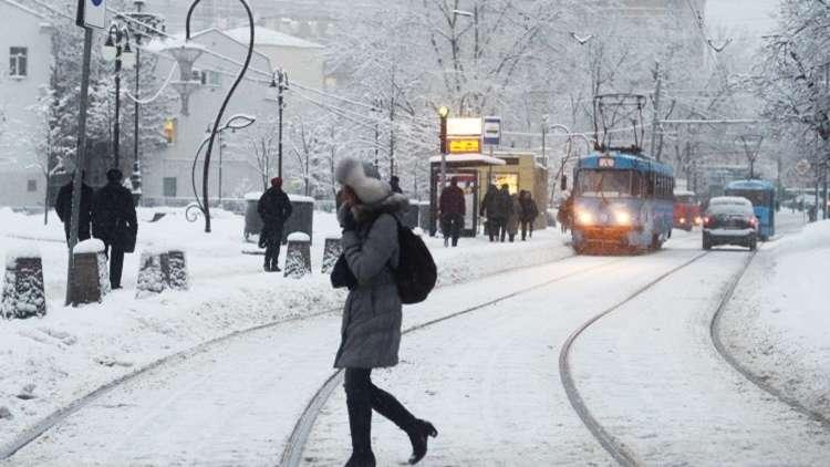 درجات الحرارة المنخفضة تسجل رقما قياسيا جديدا في موسكو