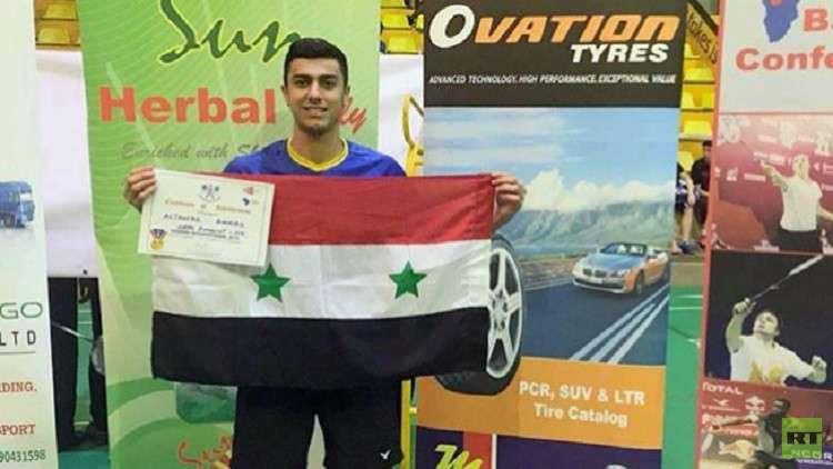 السوري الجلاد يحرز برونزية بطولة أوغندا بالريشة الطائرة
