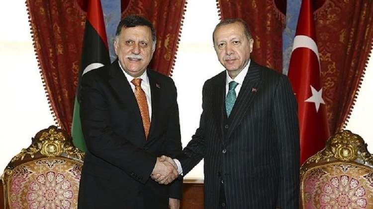 قبيل جولته الإفريقية.. أردوغان يستقبل السراج في إسطنبول