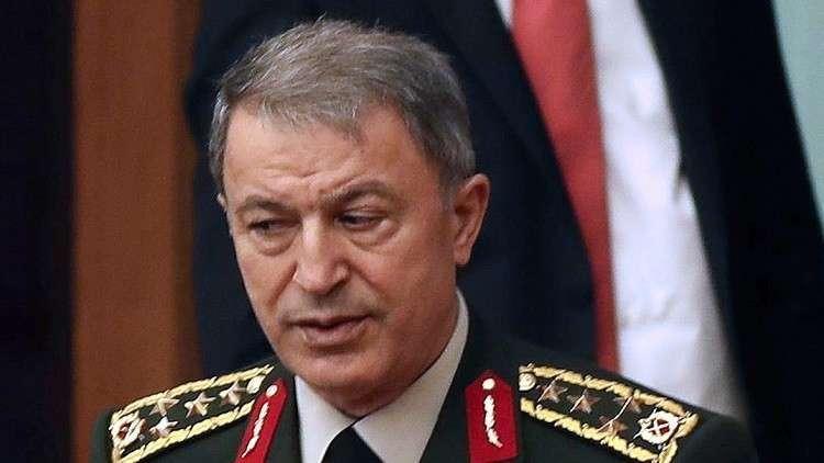 رئيس الأركان التركي يقول إن بلاده ستهزم قوى خارجية تدعم الأكراد في عفرين