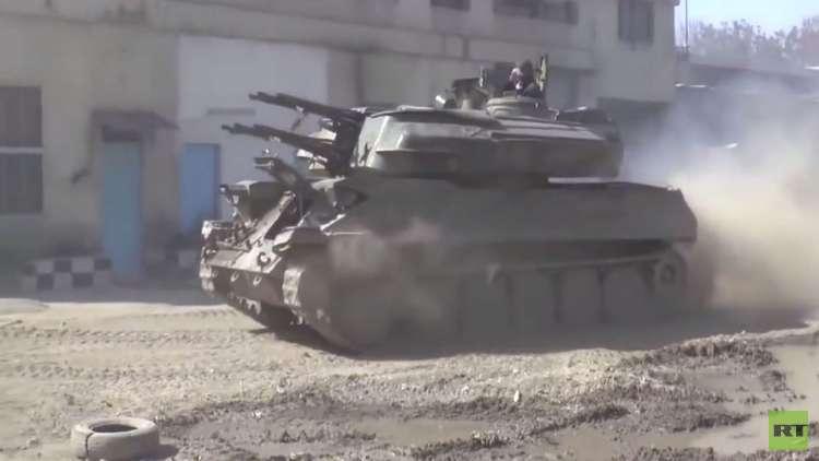 اشتباكات على محاور الغوطة الشرقية